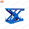 Hydraulic small fixed scissor building industrial mechanism material lift
