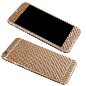 JESOY 3D Textured Carbon Fiber Full Body Skin For HTC ONE M7 M8 Vinyl Decal Wrap Cover