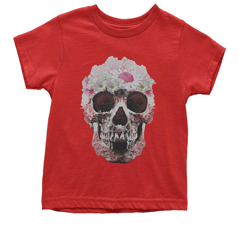 Expression Tees Daisy Skull Youth T-Shirt