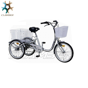 Steel hub 7 speeds tricycle made in china