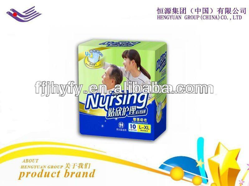 High Absorbency, Breathable, Senior Adult Diaper