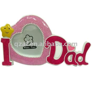 I Love Dad Letter Photo Frame For Fathers Day Gifts Buy I Love