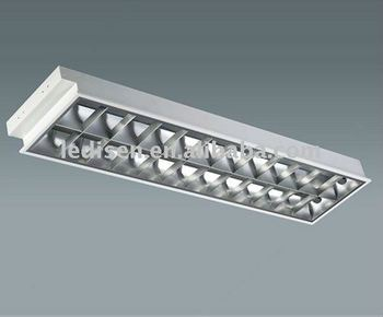 T8 Grille Lamp Fixture 2x36w