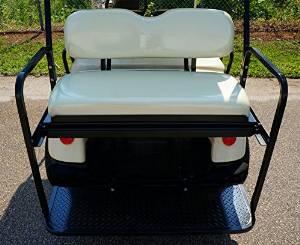 Rear Flip Seat for Yamaha G29 (Drive) Golf Cart - Grey