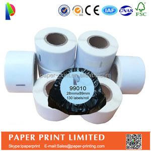 label printing machine roll sticker dymo 99010 rolls for address label  printer