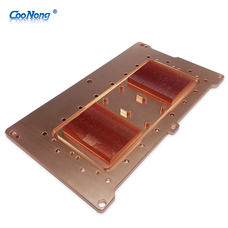 Selling CPU/Server workstation copper skive intel heatsink waterblock OEM
