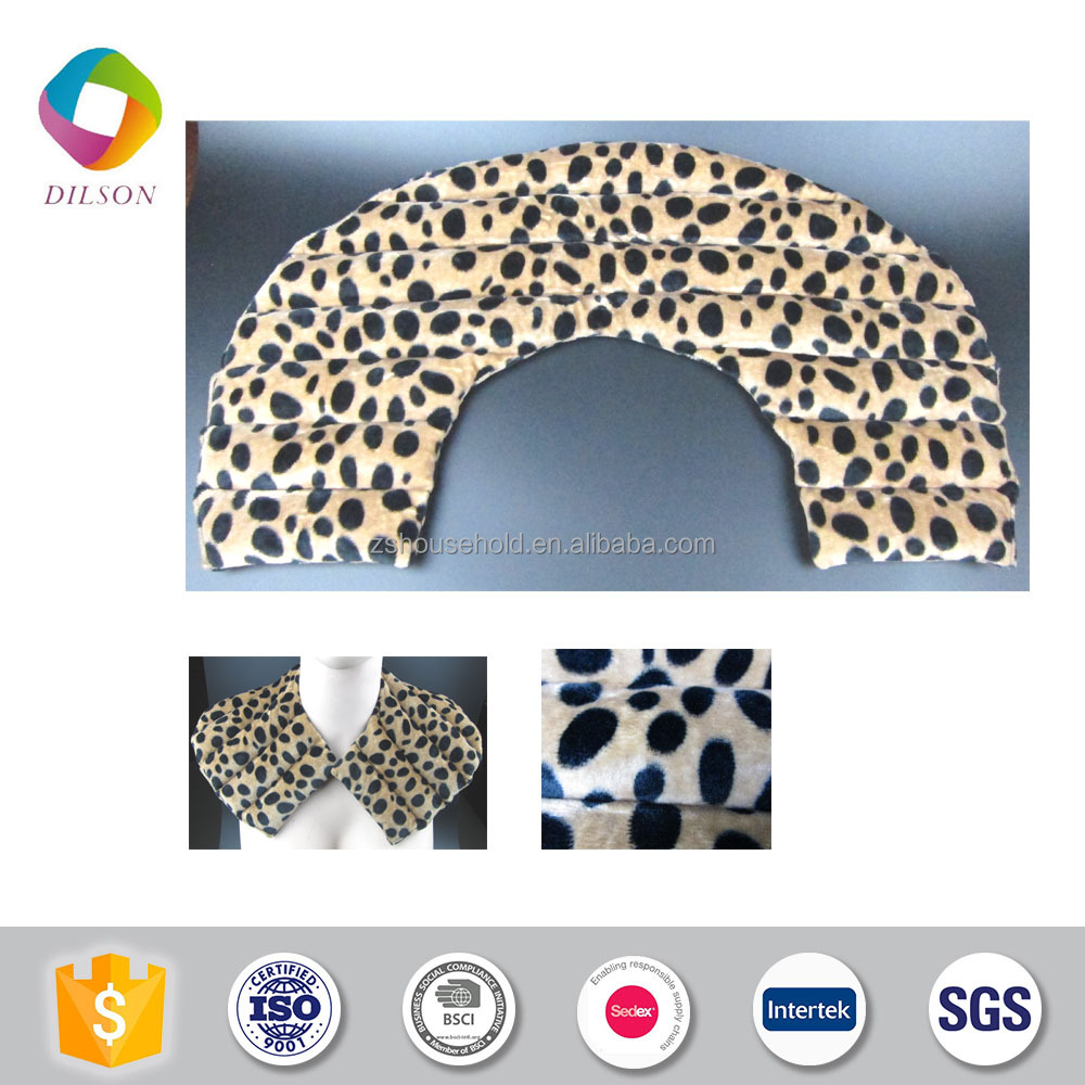 Lavender Soft Touching Microwave Neck Pillow Product On Alibaba