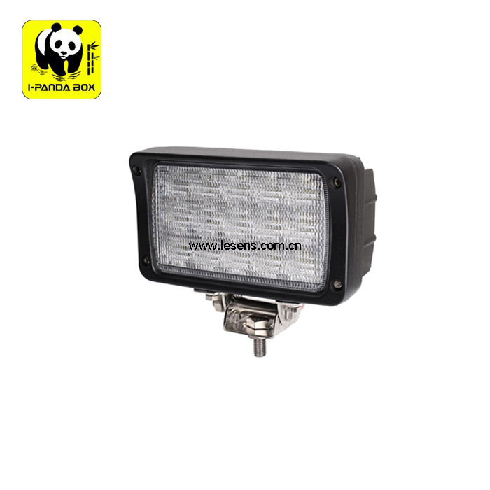 15 LED Special Performance Multi Voltage Rectangular Utility Work Light 45w For Tractor,Crane,Heavy Duty Vehicle