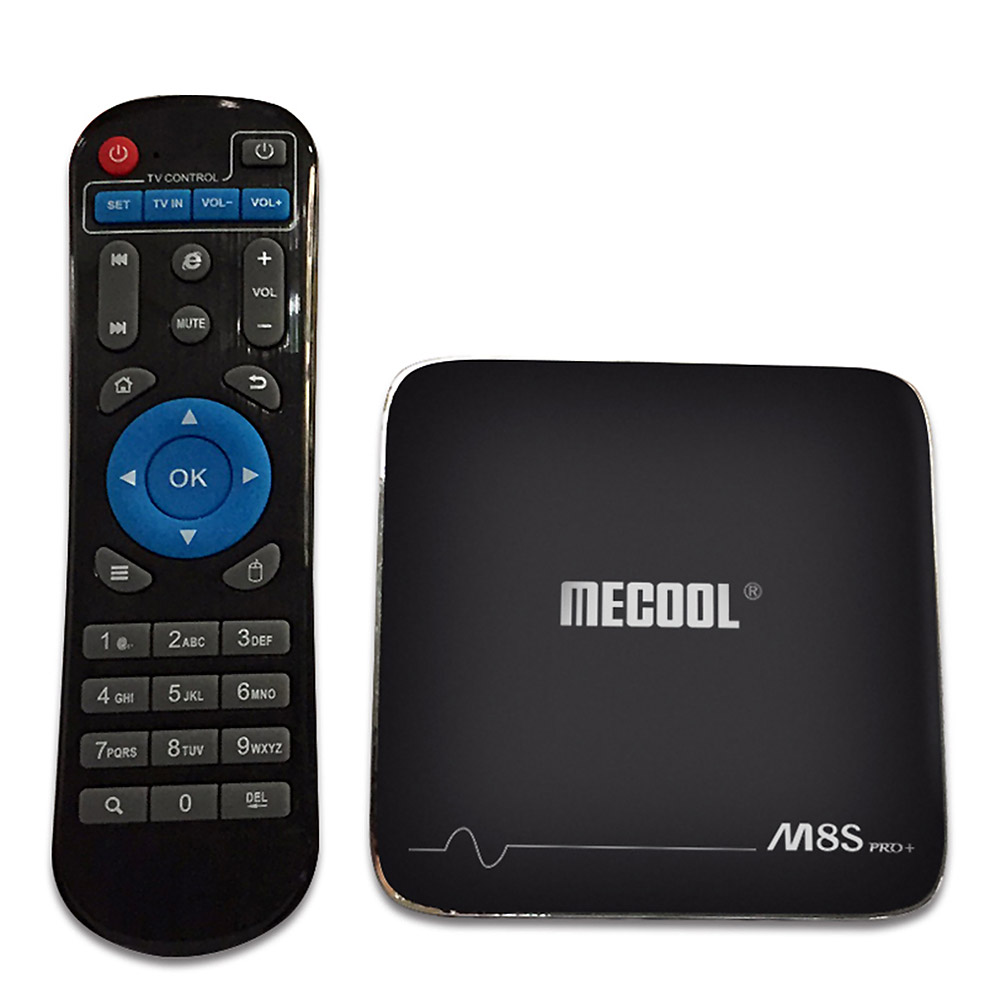 MECOOL M8S Pro Plus 2GB <strong>16GB</strong> <strong>Android</strong> 7.1 <strong>TV</strong> <strong>Box</strong> M8S PRO+ Amlogic S905X Quad Core WIFI HDMI2.0 4K*2K 1080 PK T6 X96
