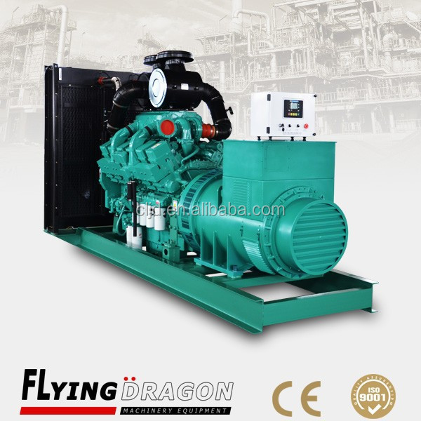 factory wholesale price, 3 phase 400V cheap 600 kw diesel dynamo generator 750 kva with stamford alternator