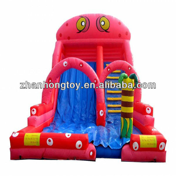 2013 new design inflatable bounce&slide combo for sale