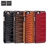HOCO mobile case for iphone 6 6s, Classic Crocodile design PU Leather Skin cover PC mobile back Case for iPhone 6/6s