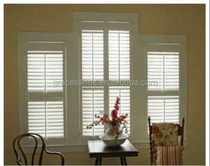 2015 Top sale plantation shutters pvc made in china