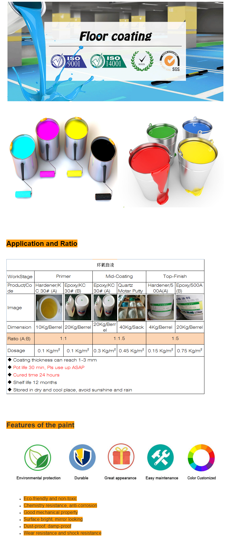 Epoxy Resin Floor Paint Asian Products Used Self Leveling Screed - Buy  Epoxy Resin Floor Paint,Self Leveling Screed,Asian Paints Products Product  on
