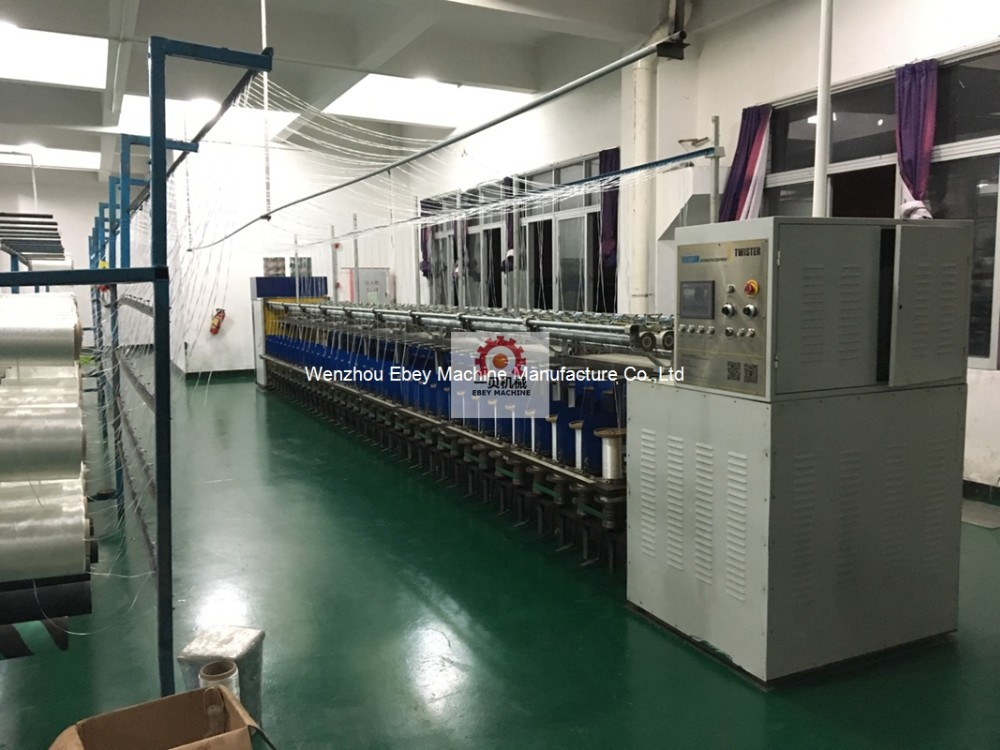 two-for one second hand machinery fancy tfo silk wire thread yarn doubling ring rope twisting machine for twine