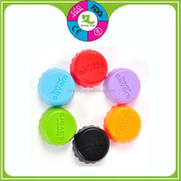 cheap 100% food grade silicone crown beer bottle stopper caps