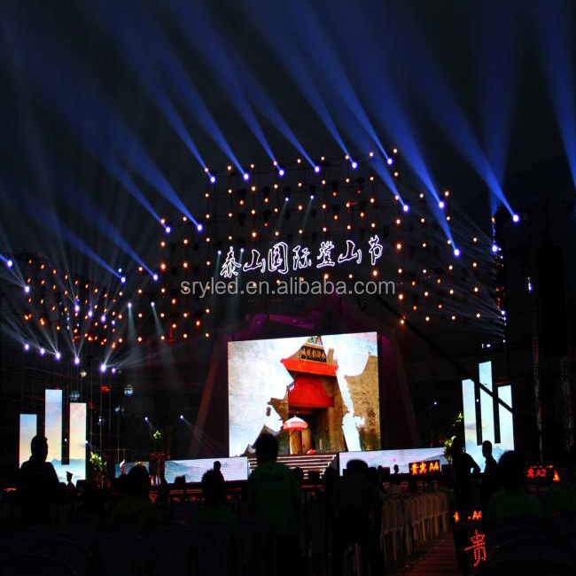 Outdoor 3.91mm 50cm x 50cm Led Panels For Rental Use Led Video Wall