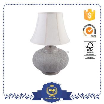 Modern famous design table lamp white reading table lamp for Reading table design
