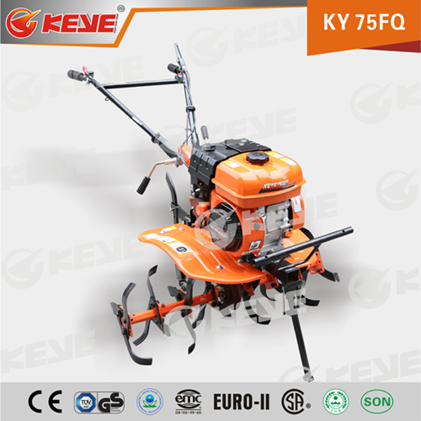 Agriculture tool 6.5hp Portable,Reliable and durable small tractor with belt driving