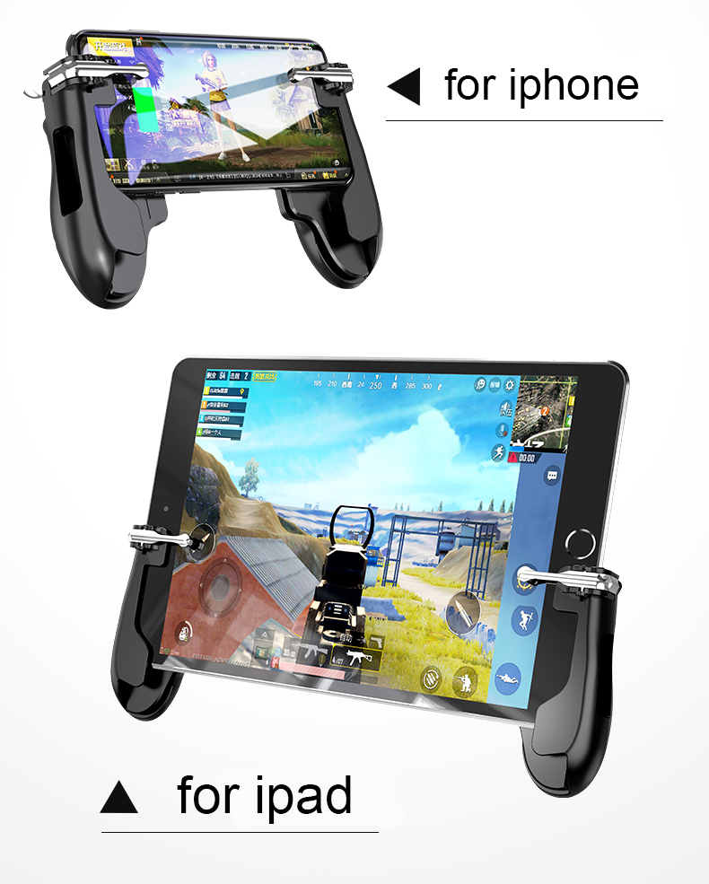 Hot style H2 pc game grip gamepad joypad game controller para ipad pc gamepad sem fio