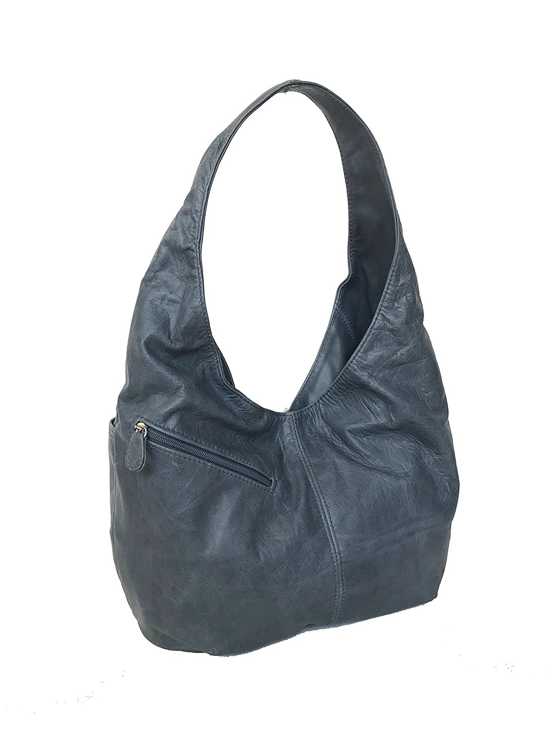 37b4bc8728 Get Quotations · Fgalaze Distressed Leather Hobo Bag Purse with Pockets