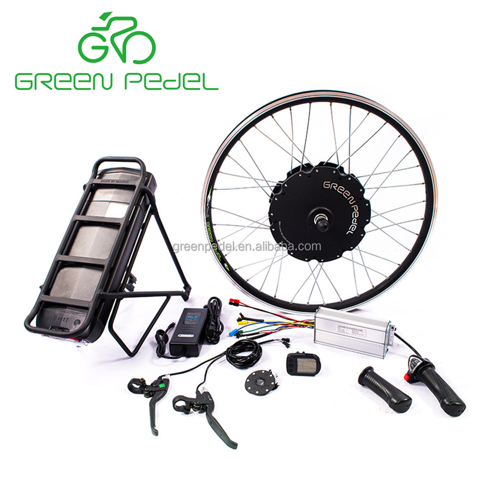Greenpedel rear wheel e bike engine kit 48V 1000W electric bicycle motor kit