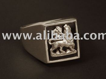 Solid 925 Sterling Silver Ring Lion Of Judah Oxidized Mans Handcrafted S Jewelry Christmas Gift Sig