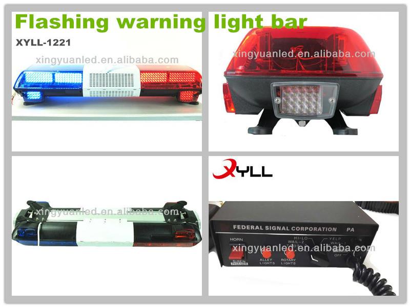 Ambulance Lights 12v Flashing Blue And Red Warnin Signal Light ...