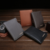High Quality Fashion Mens Leather Designer Wallets