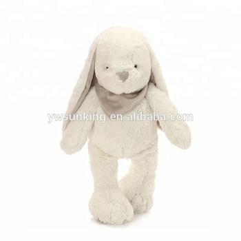 12inch White Rabbit Soft Bashful Beige Bunny Stuffed Animal With