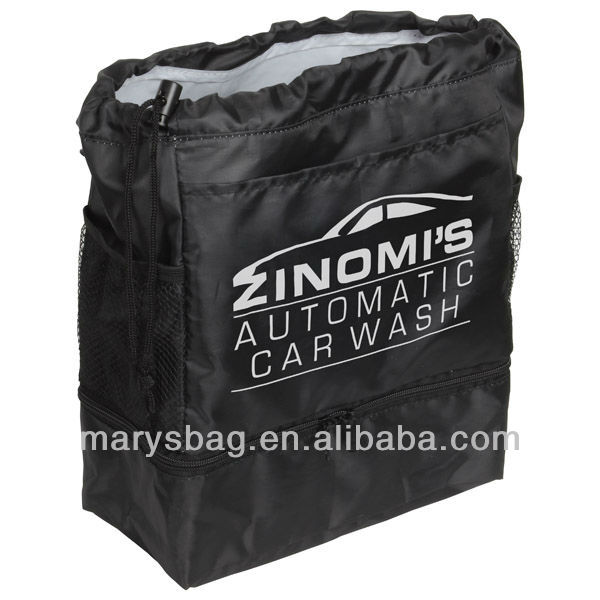 210D polyester bag with vinyl lining
