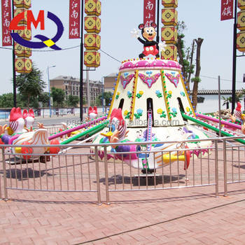 Amusement games park kids self-controlled plane for sale