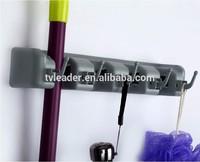 magic mop Organizer Wall Mounted Household Kitchen Broom Hanger Magic Kitchen Wall Storage Holder/rack