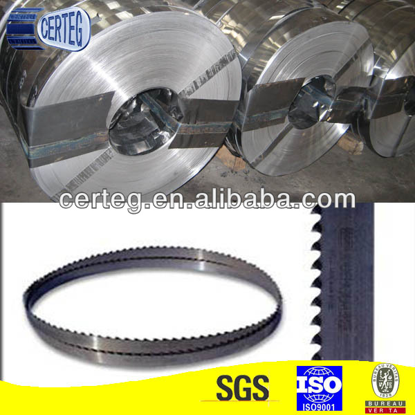 Steel Strip for Bandsaw Blade and for Other Applications