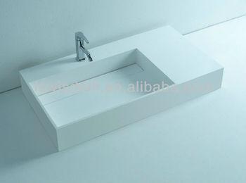 Hoek Wasbak Badkamer : Ce corian badkamer hoek wastafel wd3815 buy badkamer hoek wastafel