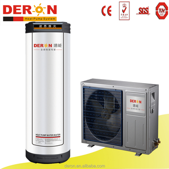Split Type Air Source Water Heater Air To Water Converter Heat Pump For  House Hot Water