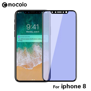 For Iphone X Mobile Phone 3D Full Cover Anti-Blue Tempered Glass Japan Material Screen Protector