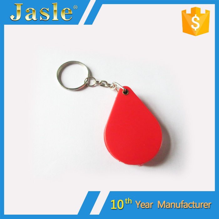 Hot Sale Folding Mini Custom Magnifying Glass with Keychain