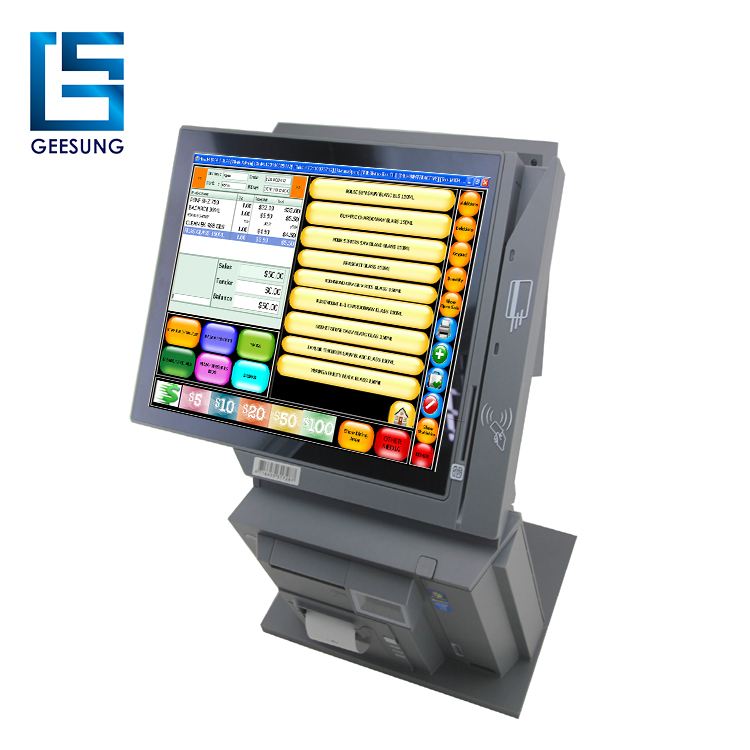Multi Function Touch Pos Terminal QR COde/Smart Card Reader Pos Terminal