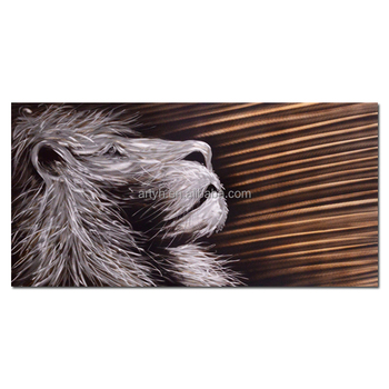 Chinese supply animal decor metal wall art