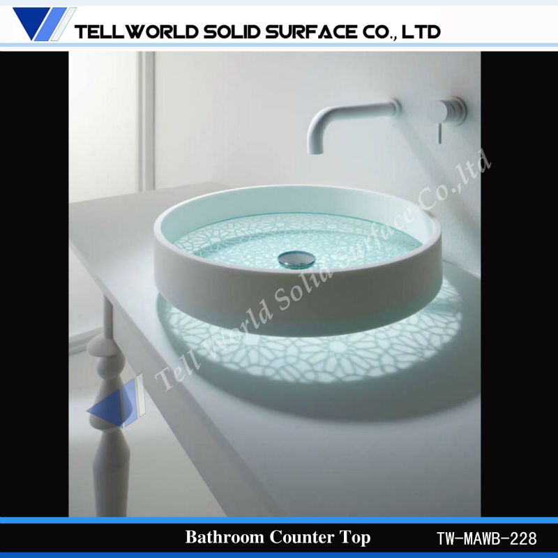 Modern Cabinets Design Luxury Wash Basin for High End Hotels