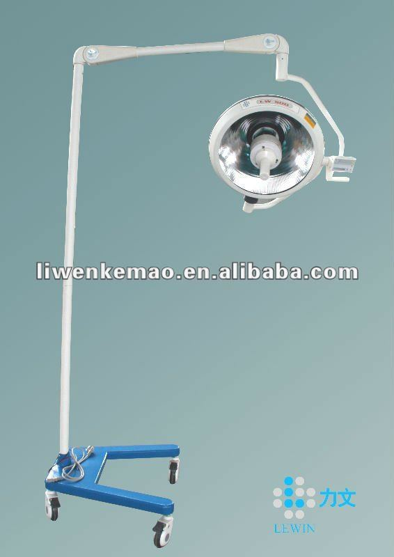 LWY500 Medical ceiling operating light/ hospital emergency instrument/ mobile operation light