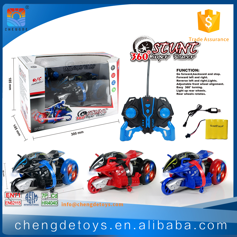 Chengde Stunt Track Car Toy For Children Remote Control Stunt Car With ASTM
