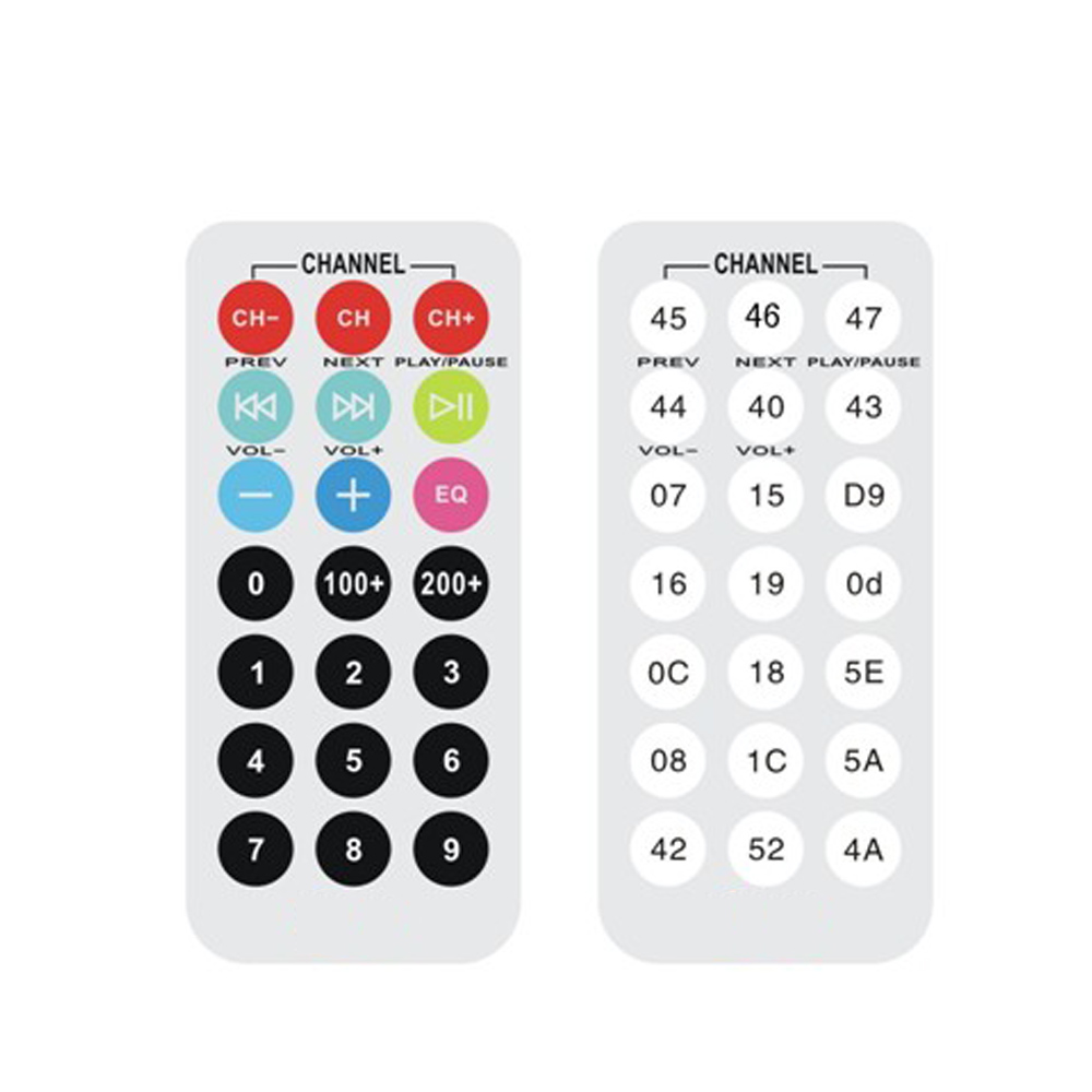 38khz Mcu Learning Board Ir Remote Control Infrared Decoder Protocol Remote  Controller For Mp3 Mp4 - Buy Infrared Remote Control,Infrared Remote,Ir