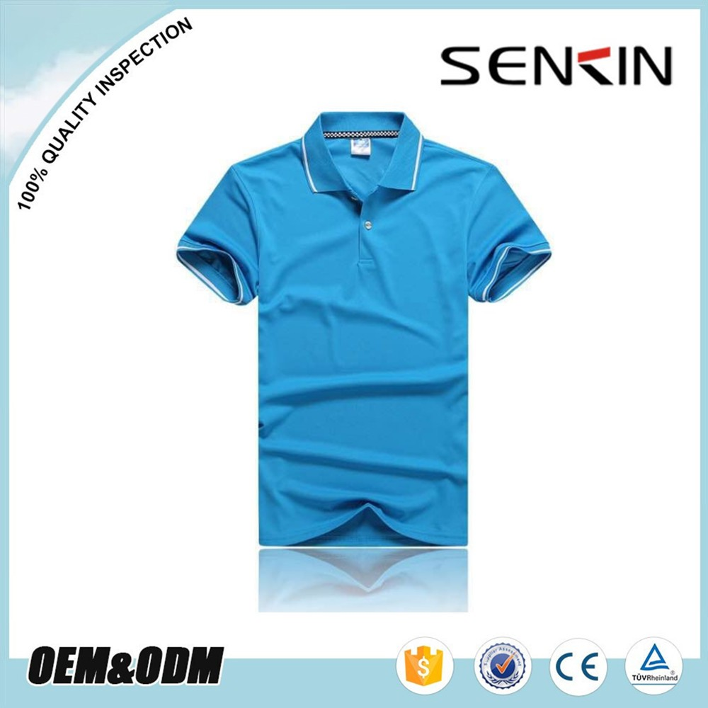 Stock Dry Fit Polo Shirts Blank Work Wear Polo T Shirts