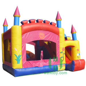HI China Manufacturers Wholesale inflatable slide castle combo inflatable bouncer house with slide for kid or adult