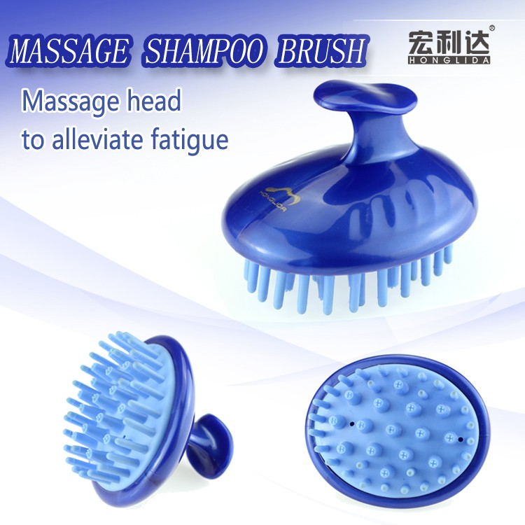 Good price plastic scalp massage handle shower hair brush