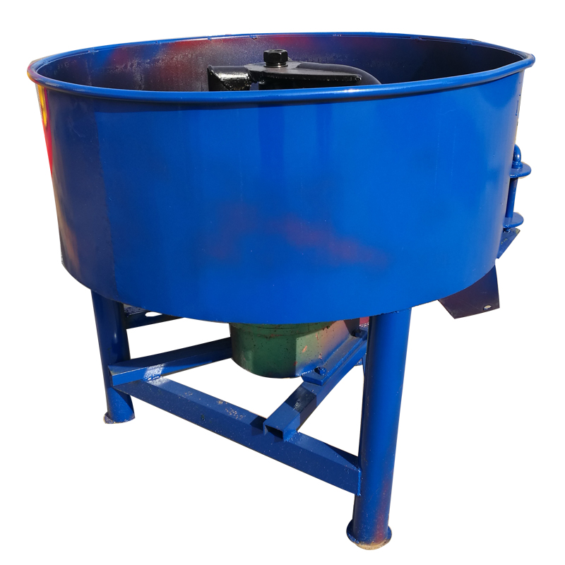 JQ350 Manual concrete pan mixer