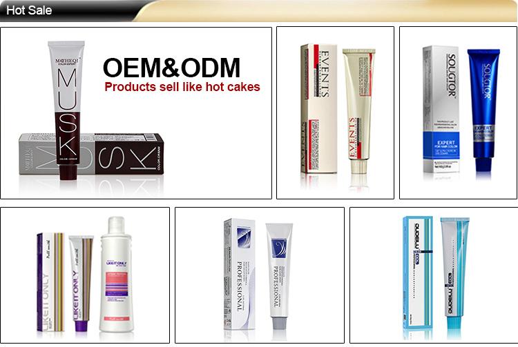 100ml Professional Permanent Salon Hair Color Dye Productsnatural