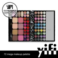 Promotion!! YIFI TZ Branded 72 Color All In One Wholesale Cosmetics Mixed Lots China Supplier